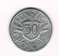OOSTENRIJK  50 GROSCHEN 1947 - Autriche