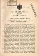 Original Patentschrift -  A. Elberts Doyer In Hilversum , 1906 , Steuerung Für Elektrische Aufzüge , Fahrstuhl , Lift !! - Historische Dokumente