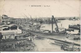 LIBAN - BEYROUTH - Le Port - Liban