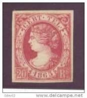 ESTGF8-3120TTSC.España Spain Espagne ISABEL II TELEGRAFOS 1865 (Ed T8*) LUJO CERTIFICADO COMEX . - Sin Clasificación