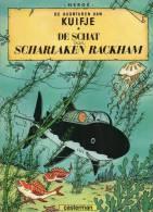 Hergé -  DE  AVONTUREN  VAN   KUIFJE  -   DE  SCHAT  Van  SCHARLAKEN  RACKHAM  - Couverture Souple. - Kuifje