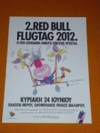 Red Bull Flugtag 2012 - Greece Carte Postale/postcard - Cartes Postales