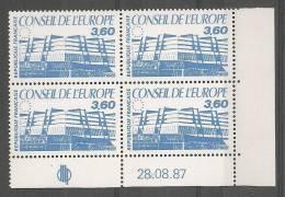 Coin Daté N°97 Service** Du 28.08.87 - Esquina Con Fecha