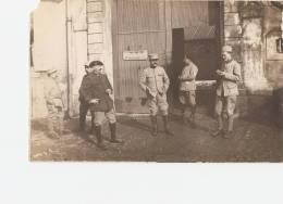 MILITARIA  - FAULX  - 54 - Porte Du Château - Ambulance 229 - Personnages