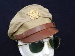 BELLE CASQUETTE PILOTE U.S. forme CRUSHER  WW.2  ... � voir ........