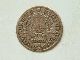 1727 - 2 Shilling HAMBURG IHL - Morin 357 ( For Grade, Please See Photo ) !! - [ 1] …-1871 : Etats Allemands