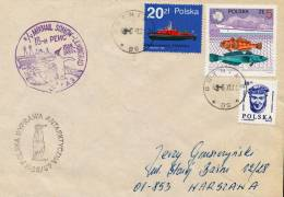 "ANTARCTIC,Expedition Polen 1988/89, R/V "" MIKHAIL SOMOV""  Rußland !! - Unclassified"