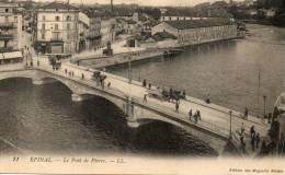 EPINAL Le Pont De Pierre L.L - Epinal