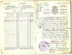 Trouwboekje Aarschot 1921 - Historical Documents