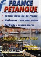France Pétanque N° 25 - Mars 2003 - - Sport