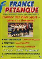 France Pétanque N° 23 - Janvier 2003 - - Sport