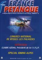 France Pétanque N° 22 - Décembre 2002 - - Sport