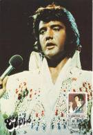 BIG Sized Elvis Maxicard (137x197mm) Of 1985, Issued By The St.Vincent Post Office - Elvis Presley