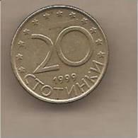 Bulgaria - Moneta Circolata Da 20 Stotinki - 1999 - Bulgaria