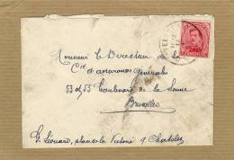 Enveloppe Brief Cover 138 - 1915-1920 Albert I