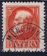 German States: Bayern Michel 106 I, Cancelled