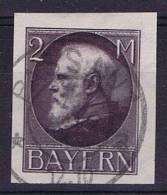 German States: Bayern Michel 105 II B, Cancelled