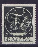 German States: Bayern Michel 195, Cancelled