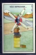 1999 Pocket Poche Bolsillo Bolso Calendar Calandrier Calendario Portugal FAP Air Force  Safety Segurança Prevenção - Calendars