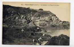 K21 - SAINT-CAST - Les Rochers à La Plage De La Mare (carte Animée) - Saint-Cast-le-Guildo