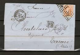 Nr 33 Op Brief Van Bruxelles Naar Tarare (France) 26/11/1872 - L 60 Bruxelles (GA6398) - 1869-1883 Leopold II