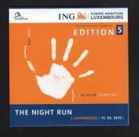 CD The Night Run Marathon Luxembourg 2010 Et Son Livret édition 2013 - Sports