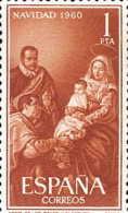 España 1325 ** Navidad. 1960 - 1951-60 Nuevos & Fijasellos
