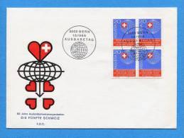 Suisse, Switzerland, Schweiz,  1965, FDC, Die Fünfte Schweiz, - Schweiz