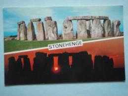 23857 PC: SOMERSET: Stonehenge. - England
