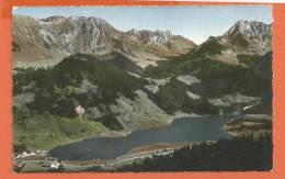 Q1089 Lac Noir Et Schwarzsee, Carte De L'Hotel Gypsera Famille Nussbaumer.Circulé. SG - FR Fribourg