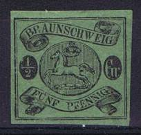 German States: Braunschweig: Mi Nr  10 A No Gum (*) - Brunswick