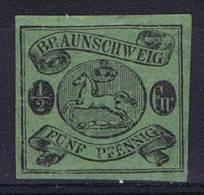 German States: Braunschweig: Mi Nr  10 A No Gum (*)