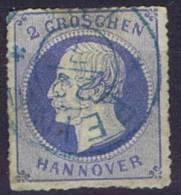 German States: Hannover: Mi Nr  23 Y   Cancelled,