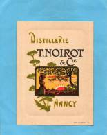 """Carte  Illustrée-distillerie """"NOIROT"""" NANCY-années 1900-10 Imp Royer - Nancy"""
