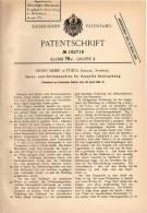 Original Patentschrift - Ernst Bebié In Turgi , Aargau , 1906 , Spinn- Und Zwirnmaschine !!! - Machines
