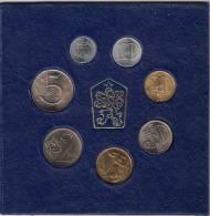 Czechoslovakia 1988. Complete Coin Set Mint Set UNC NEUF - Czechoslovakia