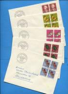 Suisse, Switzerland, Schweiz,  FDC, Pro Juventute 1957 - FDC