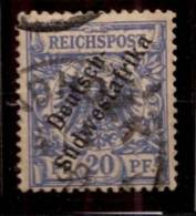 AFRIQUE DU SUD OUEST ALLEMAND.DSWA.1897.MICHEL N°8.OBLITERE.X120 - Kolonie: Deutsch-Südwestafrika