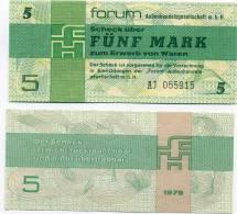 Allemagne - Germany 5 Mark Pick FX3 Neuf UNC - [14] Forum-Aussenhandelsgesellschaft MBH