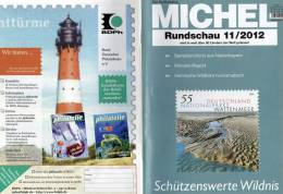 MICHEL Briefmarken Rundschau 11/2012 Neu 5€ New Stamps Of The World Catalogue And Magacine Of Germany - Sin Clasificación