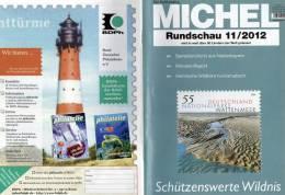 MICHEL Briefmarken Rundschau 11/2012 Neu 5€ New Stamps Of The World Catalogue And Magacine Of Germany - Pasatiempos Creativos