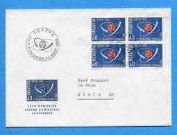 Suisse, Switzerland, Schweiz,  FDC, 1958 Atomkonferenz - FDC