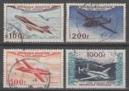 Poste Aérienne N° 30 à 33 Avec Oblitération Cachet à Date  TTB - 1927-1959 Used