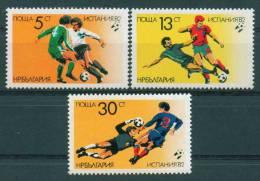 3145 Bulgaria 1982 Soccer World Cup Espana 82 **MNH / Fussballweltmeisterschaft, Spanien - 1982 – Espagne
