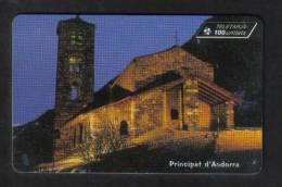 ANDORRA RARE USED PHONCARD - Andorra