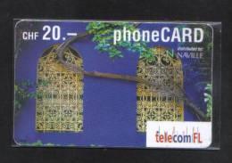 LIECHENSTEIN USED PHONECARD - Liechtenstein