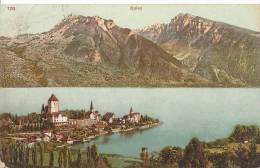 Spiez  Suisse CPA 1908 - BE Berne