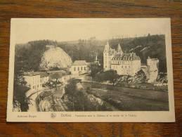 Panorama Vers Le Château Et Le Rocher De La FALAIZE / Anno 19?? ( Zie Foto Voor Details ) !! - Durbuy