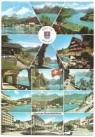 RUND UM BRUNNEN Schwyz 2 Ansichtskarten - SZ Schwyz