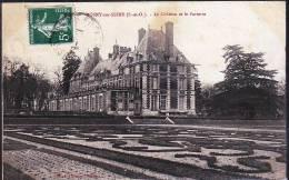 ROSNY SUR SEINE LE CHATEAU ET LE PARTAIRRE - Rosny Sur Seine